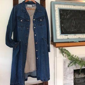 Jackets & Blazers - VINTAGE denim jacket/dress 🌿LIKE NEW🌿