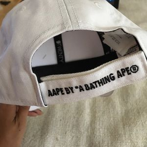 e9b1cfa75e3 bape Accessories - Aape by A bathing ape white Hat