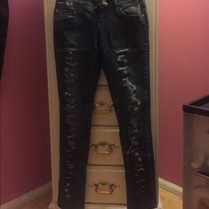 Distressed Zana Di skinny jeans, 5