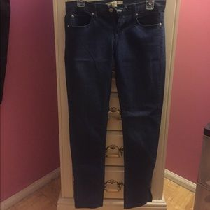 Forever 21 skinny jean with zipper ankle, 28