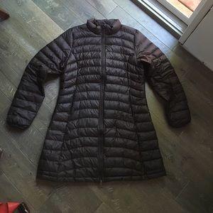 Patagonia long down jacket size large