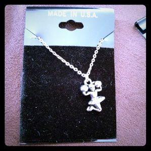 Brand New cheerleader necklace