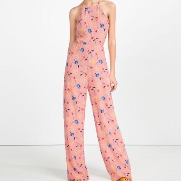 c67211faf5b ... Pink Floral Jumpsuit. M 599c823b6d64bcc72c0013dc