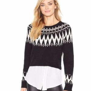 Kensie Layered Sweater