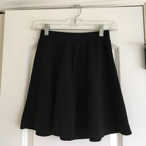 Dresses & Skirts - Brand new without tags, black skater mini