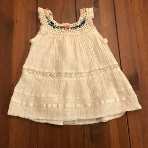 Other - Cream Baby Girl Dress
