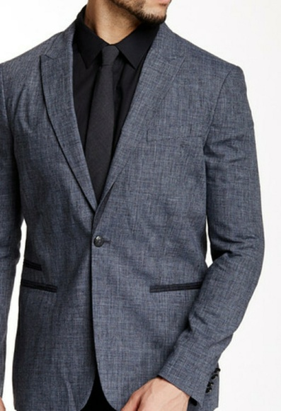 486126a010a98 John Varvatos Suits & Blazers | Star Usa Peak Lapel Jacket | Poshmark
