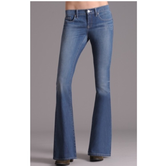 Henry & Belle Denim - Henry & Belle Lila Flare With Flap Jeans NWT