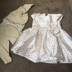 Carter's Cardigan And Dress Bundle 6 Months