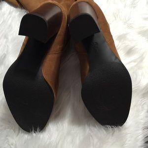 c0d6a665d3043 Sam Edelman Shoes - Sam Edelman Victoria Camel Suede Slouch Boot 8.5M