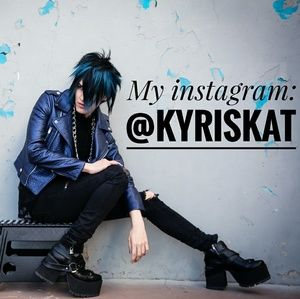 💙My instagram: kyriskat Follow me for a discount!
