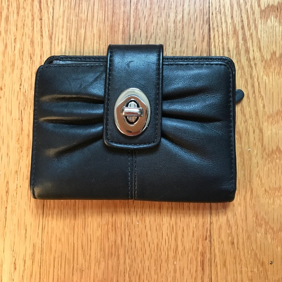 Coach Bags - Coach Black Leather Wallet