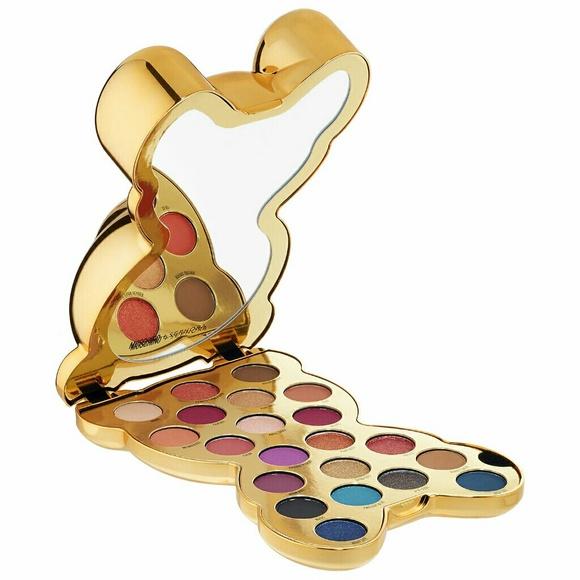 Moschino Sephora Bear Eyeshadow Palette Nwt