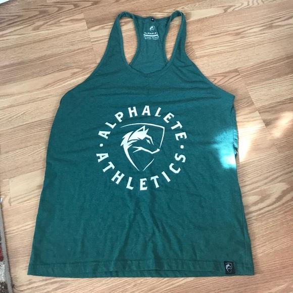 3d8ba16da1375f Alphalete Other - Alphalete athletics green stringer