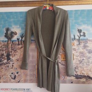 Sweaters - CARDIGAN OLIVE GREEN