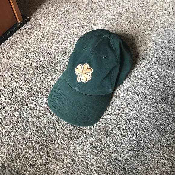 new products 78cb9 256c3 ... get green notre dame clover hat 305c0 ccc33