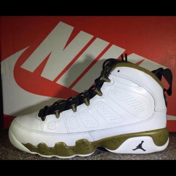 premium selection e5708 dd1fc Air Jordan Other - Jordan retro 9 militia green size 6 kids