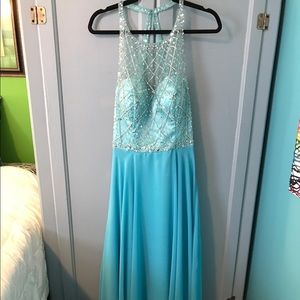 Dresses & Skirts - NWT Turquoise Gown
