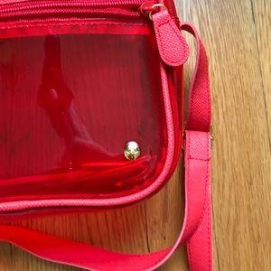Stephanie Johnson Bags - Stephanie Johnson Red Crossbody Camera Bag
