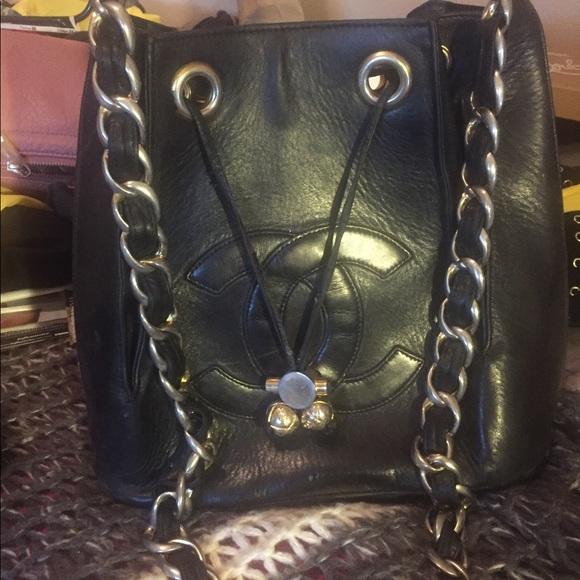 e1e614262 CHANEL Handbags - Vintage Chanel Bucket Bag