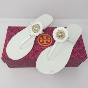 TORY BURCH MELODY JELLY SANDALS SZ8