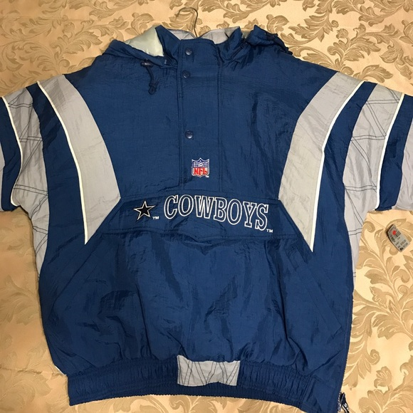 100% authentic ce738 b2558 Vintage 90s Dallas Cowboys Sideline Coat NWT NWT