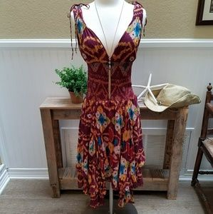 Free People Aztec Boho Dress