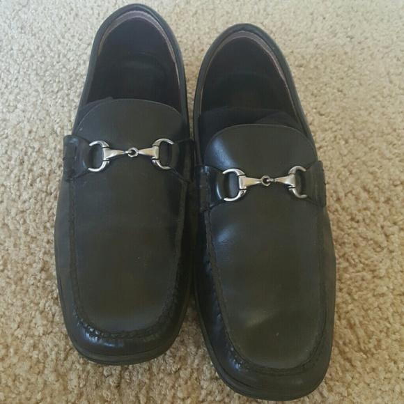 c7cc4398e34 J M BLACK Leather slip on loafer like Gucci sz 13