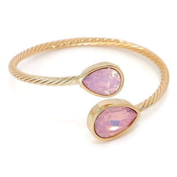Sparkle & Whim Jewelry - Light Opal Cuff