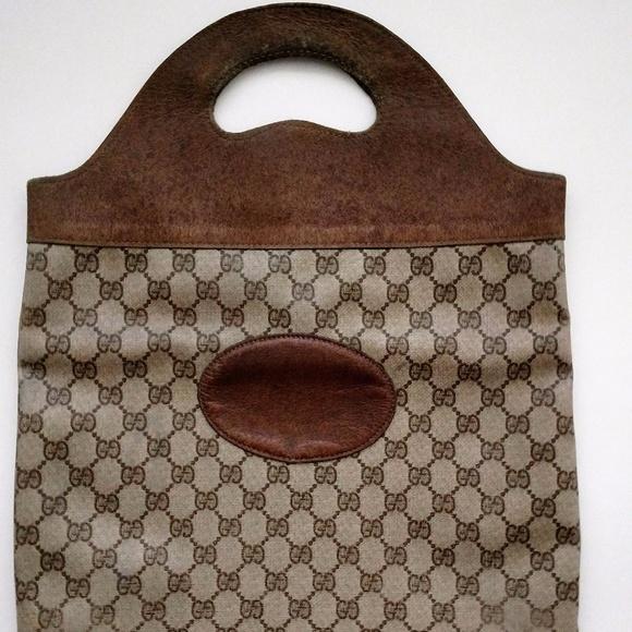 70cac5ee5a2 Gucci Handbags - Fair Vintage Authentic Gucci Shopper Tote Bag