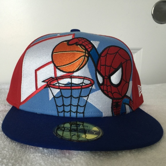 f411a7dd2f2 New Era Tokidoki Spider-Man Hat. M 599cb4b699086ae51300dd80. Other  Accessories ...