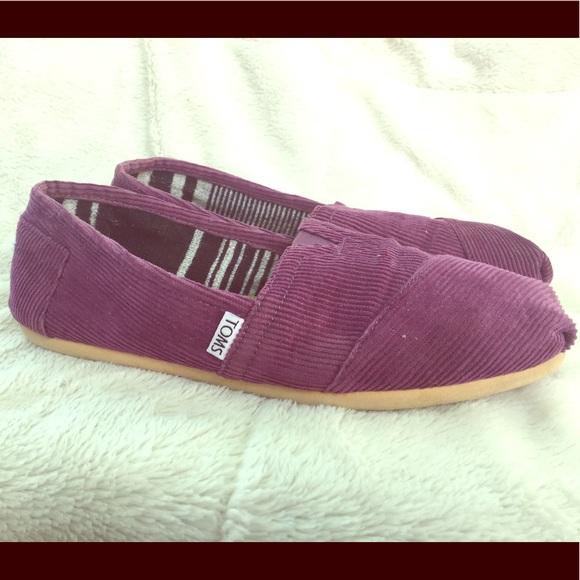 ed838024c4c Toms Shoes - Toms Corduroy Women s Shoes Purple