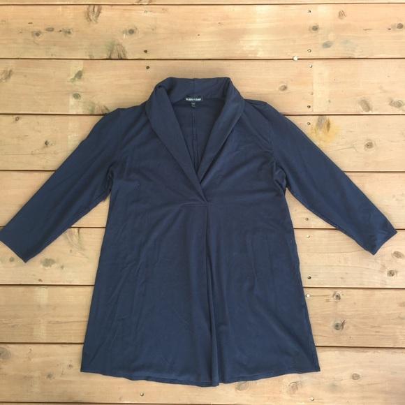 c55f7eeb0e1 Eileen Fisher Sweaters - [Eileen Fisher] Navy Blue Tunic style sweater - M