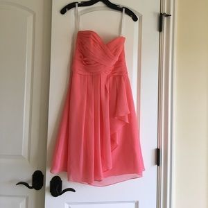 Dresses & Skirts - Davids bridal coral bridesmaid dress