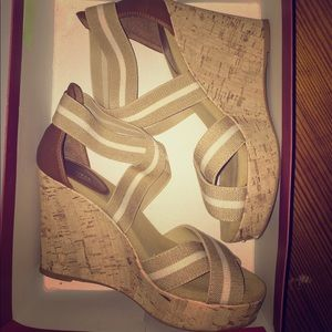 Shoes - Strappy wedges