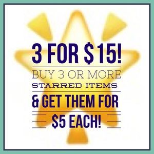 Other - 🌟 3 items for $15 🌟