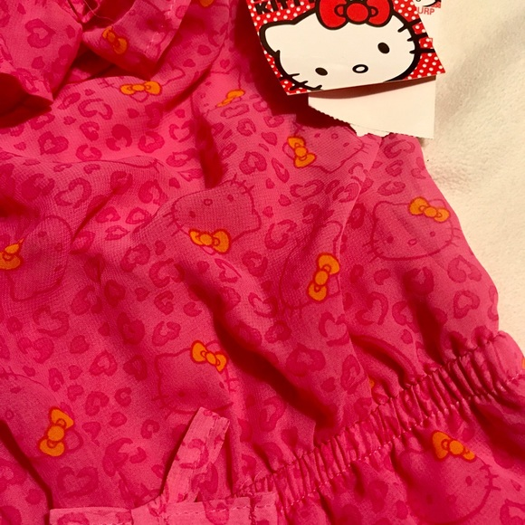 Hello Kitty Other - Adorable Hello Kitty romper/jumpsuit