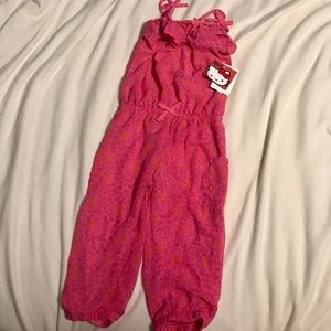 Adorable Hello Kitty romper/jumpsuit