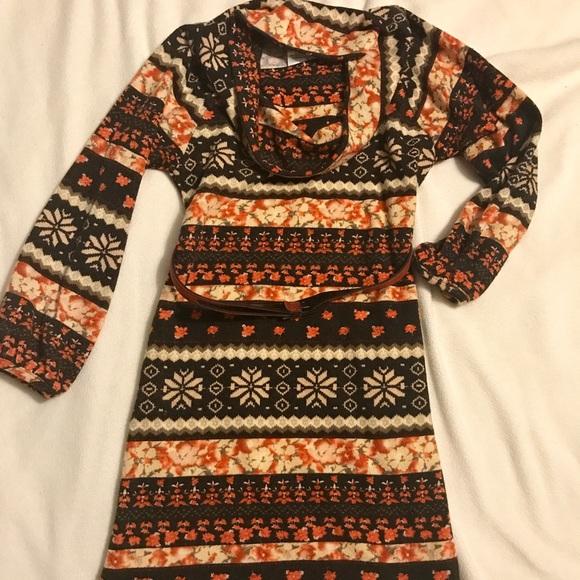 Bonnie Jean Other - Cowl neck dress