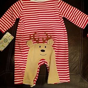 NWT Christmas Onsie Size 3 months