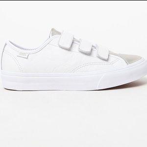 """e054e8a985 Vans Shoes - """"Prison Issue"""" Vans Velcro Close Slip ons 🤩"""
