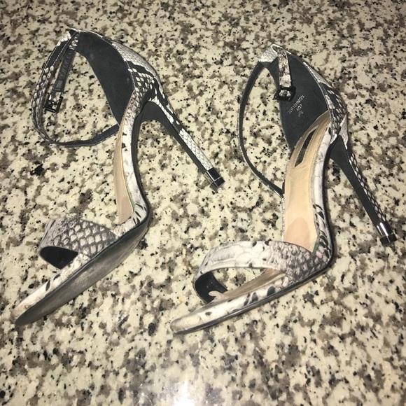 ad9d3622863 Topshop Snake print strappy heels. M 599cd6f17fab3ac86e01929c