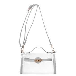 Clear Game Day Crossbody Stadium Purse