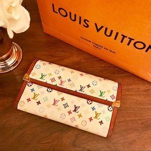 Louis Vuitton Multicolore Porte Tresor Wallet