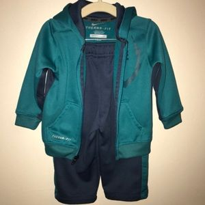 NIKE Boys' Therma-Fit 2Piece Tracksuit - Size 18m