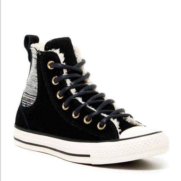 7803e4d01fda NIB Chelsee High Top Faux Shearling Lined Sneaker