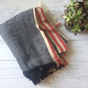 Accessories - Stripe Blanket Scarf