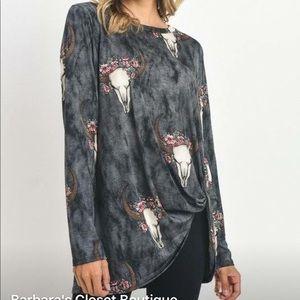 Tops - Charcoal Shirt