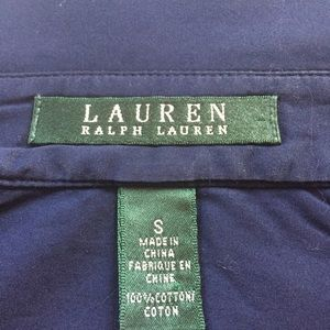 Lauren Ralph Lauren Tops - Lauren Ralph Lauren button down blouse size small.