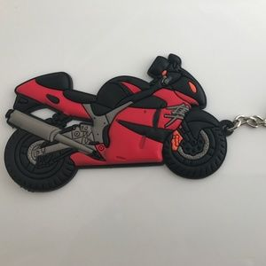 Accessories - Keys Holder Mini Motorcycle Rubber Cute Gift
